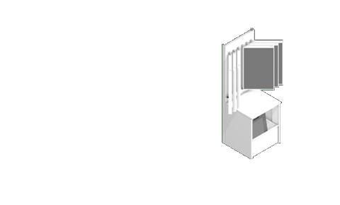 Libra with cradle