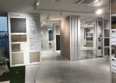 showroom for ceramics