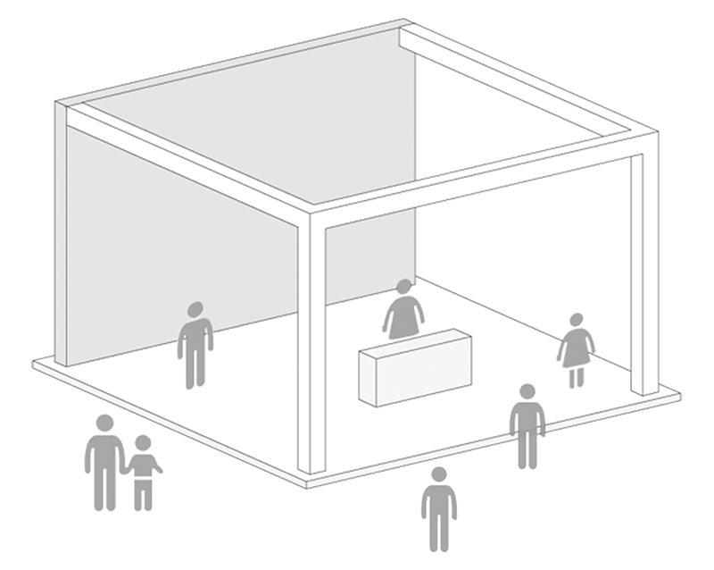 eco design stand