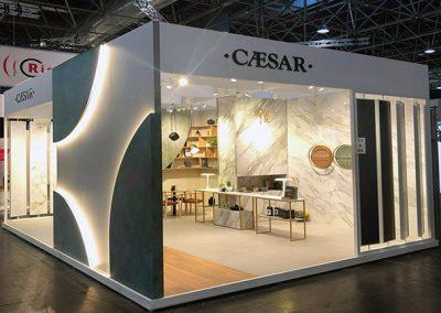 Progettazione Stand Euroshop Caesar