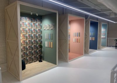 progettazione showroom ceramiche mariner