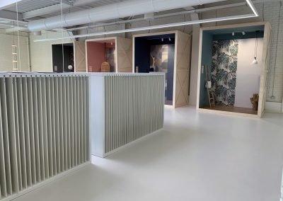 mariner ceramic showroom design